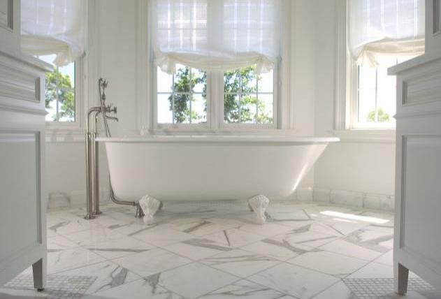 Calacatta Marble Bath Br007