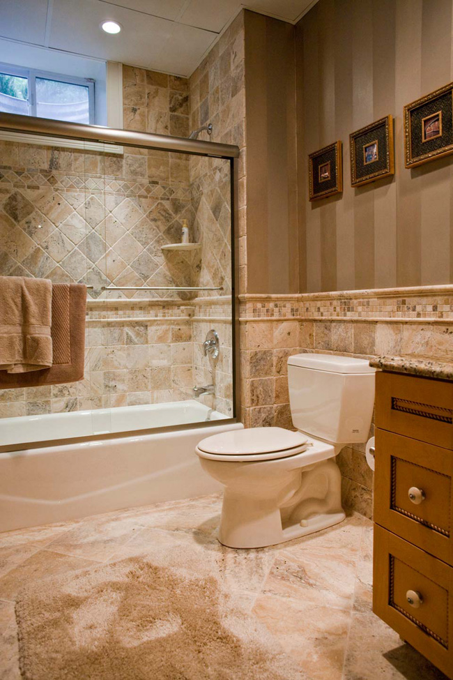 Tile bathroom bclskeystrokes for Tile designs for bathroom
