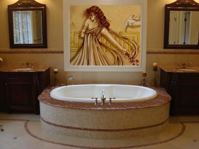 Fuda Tile Stores Bathroom Tile Gallery - Marble slab for bathroom vanity